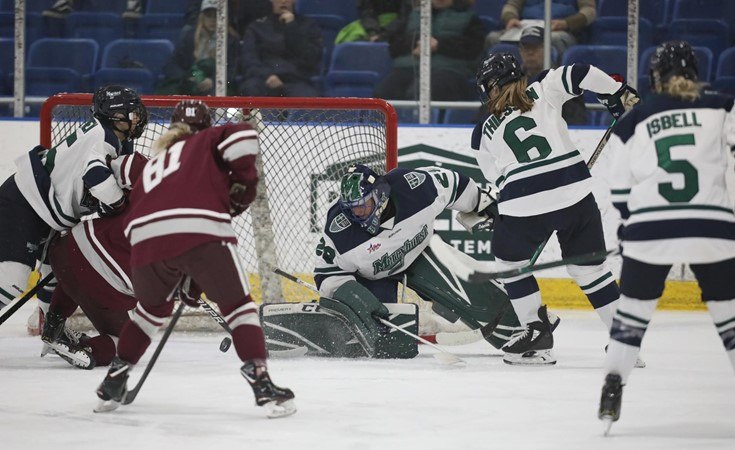 Women's Ice Hockey Shuts Out RIT 6-0